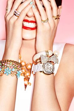 Sarah Laird & Good Company — Arthur Belebeau — Accessories All That Glitters, Good Company, Beauty Photography, Nail Designs, Jewels, Nails, Makeup, Pretty, Accessories