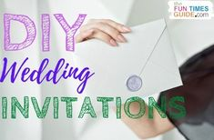 My favorite tips & tools for easy DIY wedding invitations. (Even if you don't have a creative bone in your body!) #diywedding #weddingbudget #weddinginvitations #weddingdiy