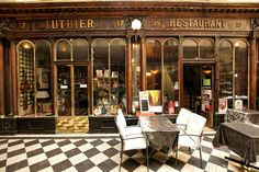 Would make a great miniature :Luthier & Restaurant by dprezat, via Flickr