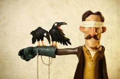Plasticine works by gianluca maruotti, via Behance
