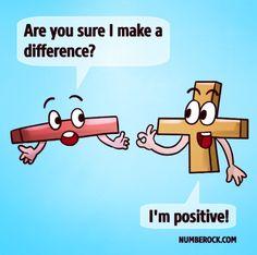 Discover Fun Math Jokes, Math Songs, & More At NUMBEROCK.com Funny Math Jokes, Math Memes, Nerd Jokes, Jokes And Riddles, Science Jokes, Memes Humor, Funny Math Posters, Grammar Jokes, Chemistry Jokes