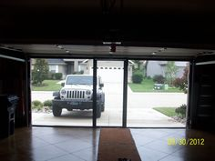 Lifestyle garage door screen coolscreenstexas@hotmail.com