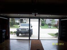 Lifestyle garage door screen coolscreenstexas@hotmail.com