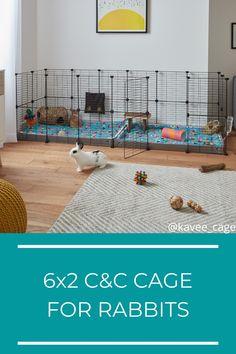 Rabbit Cage Diy, Diy Bunny Cage, Bunny Cages, Rabbit Cages, Indoor Rabbit Run, Rabbit Hutch Indoor, Pet Bunny Rabbits, Pet Rabbit, Hedgehog Pet Cage