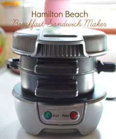 Breakfast Ideas for the Beach | am a Hamilton Beach Ambassador and received their breakfast ...