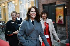 """royalhair:  Crown Princess Mary attended the film premier of """"He Named Me Malala"""", October 25, 2015"""