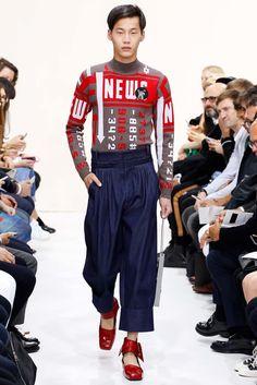 J.W.Anderson Spring 2016 Menswear Fashion Show - Chenming Wang