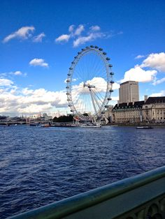 The London Eye in London, Greater London