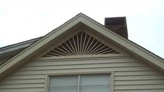 decorative gable roof vents - Google Search