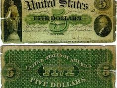 US $5 Demand Note