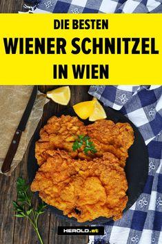 Wiener Schnitzel in Wien: die top 9 Wiener Schnitzel, Schnitzel Restaurant, Restaurant Bar, Salzburg, Vienna Austria, Foodie Travel, Tandoori Chicken, Main Dishes, Ethnic Recipes
