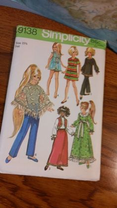 Simplicity Pattern 9138  Wardrobe suitable for by kitschannette, $16.95