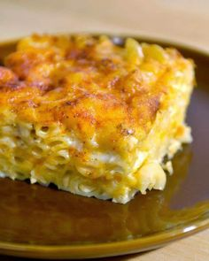 John Legend's Macaroni and Cheese - I have made it dozens of times and I get so many requests for it. I like to assemble it the night before. That gives the liquid time to absorb into the noodles and I think it makes it taste even better.. Think Food, I Love Food, Food For Thought, Side Dish Recipes, Great Recipes, Favorite Recipes, Recipes Dinner, Drink Recipes, Amazing Recipes