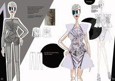 IFA Paris graduate Doris's work  The collection has been show in IFA Paris Fashion Show 2013