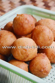 Diah Didi's Kitchen: Resep Donat Mudah, Enak, Praktis dan Nggak Perlu di Uleni..^^