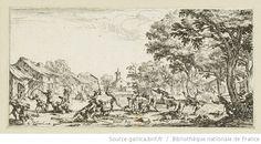 [Les petites misères de la guerre]. 5, [La revanche des paysans] : [estampe] / [Jacques Callot] - 1