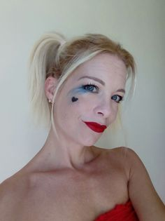 Harley Quinn look for Halloween..#ytrends