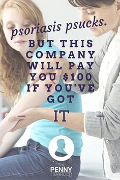 factor Quema Grasa - Do you suffer from psoriasis? Want to make extra money? Complete surveys and earn CASH! - The Penny Hoarder www. Natural Cure For Psoriasis, What Is Psoriasis, Psoriasis On Face, Psoriasis Symptoms, Psoriasis Arthritis, Psoriasis Diet, Psoriasis Remedies, Doterra, Inverse Psoriasis