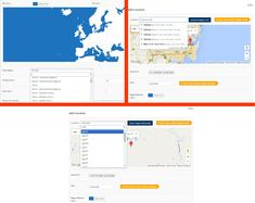 Search locations easily using Google Autocomplete feature. In addition, you can search for World Regions and Map Display options with ease using the the suggestive autocomplete search using Super Interactive Maps #interactivemaps #vectormaps #worldmaps Go ahead a grab a copy at http://superstorefinder.net/getsim
