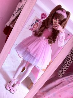 frillypinkdreams:  Magical girl transformation! I have found my magical girl form! Please meet Magical Princess Josephine ^v^ iiih, so happy about my new dress! BLOG UPDATE
