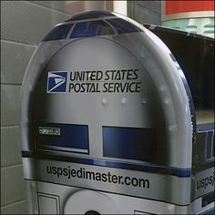 United States Postal Service Mailbox – Fixtures Close Up United States Postal Service, Mailbox, Close Up, Awesome, Places, Life, Mail Drop Box, Post Box, Mail Boxes