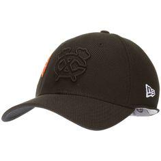 Chicago Blackhawks Monochromatic Dual Logo Flex Fit Hat by New Era #Chicago #ChicagoBlackhawks #Blackhawks