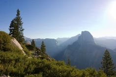 The End: Nine U.S. HIkes with gorgeous Finales - Trails to Half Dome, California