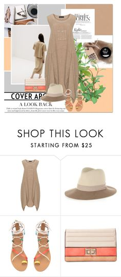 """""""Linen Pocket Dress"""" by sharoncrotty ❤ liked on Polyvore featuring D Celli, rag & bone and Melie Bianco"""