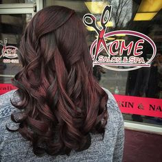 Red velvet color melt on the soon to be Mrs. The chocolate & auburn shades play well together to create a lot of dimension. Give Jessica some ❤️! #billingsmontana #haircolor #colormelt #hautehair #hairstylist #acmesalonandspa #beautyfrenzymontana #longhair #lowlights #auburnhair #chocolatehair #redvelvet #soontobemrs #bridestyle #downtownbillings #sarahgivesgoodhair #intensecolor #alfaparfmilano  STYLIST: Sarah Smith www.facebook.com/beautyfrenzymontana