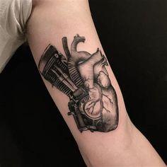 Biker Tattoo 82 Biker,Biker Tattoos,motorcycle tattoos,tattoo - Choppers, Bobbers and Old School - Motorrad Racing Tattoos, Car Tattoos, Biker Tattoos, Motorcycle Tattoos, Body Art Tattoos, Sleeve Tattoos, Motor Tattoo, Harley Tattoos, Harley Davidson Tattoos