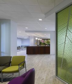 PHOTO TOUR: MemorialCare Medical Foundation | Healthcare Design -- Different furniture solutions and configurations are used to accommodate individuals, families, and children. Photo: LPA Inc./Costea Photography Inc.