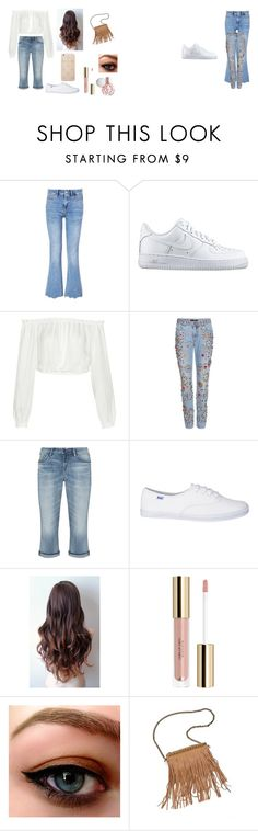 """""""4t4t4t4"""" by kauane-candido-stuhler on Polyvore featuring beauty, MiH, NIKE, Elizabeth and James, Dolce&Gabbana, Silver Jeans Co., Patchington and Sonix"""