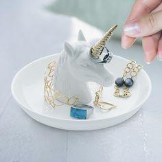 Porte-Bagues Licorne XL bijoux #licorne #unicorn #unicorns #licornes #jewel #ring
