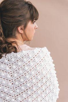 Crochet Le Nuage Wrap - Sewrella