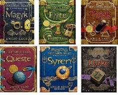 Septimus Heap series... I haven't read them all yet, but I plan to.