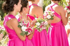 Pretty in Pink Multiway Infinity Dresses www.theradicalthreadco.etsy.com