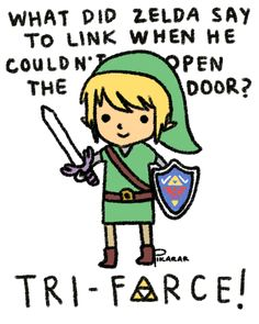 Zelda Jokes Are Best Jokes