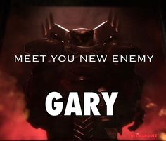 Gary is pretty scary.  Destiny 2 Reveal Trailer Meme Lol Funny memes I love Cayde-6 Cayde is awesome.