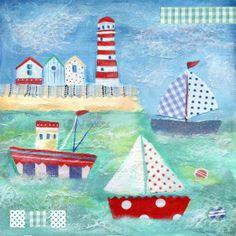 Ileana Oakley - seaside boats lighthouse.jpg