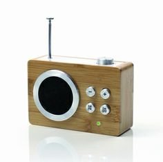 Retro Radio Lexon Mini Dolmen LA69 Bamboo