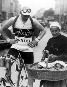 Tour de France picture from yesteryear