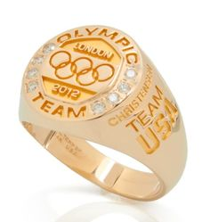 Branded Products = Olympic Gold: Why Every U. Athlete Came Home A Winner - Forbes Team Usa, Olympians, Olympic Games, Ring Designs, Jewelry Rings, Athlete, Gold Rings, Wedding Rings, Bling