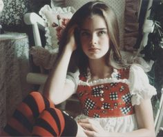 90s Makeup Look, Brooke Shields Young, Divas, Girlmore Girls, Free Girl, Most Beautiful Faces, Girl Tips, Cute Beauty, Pretty Baby