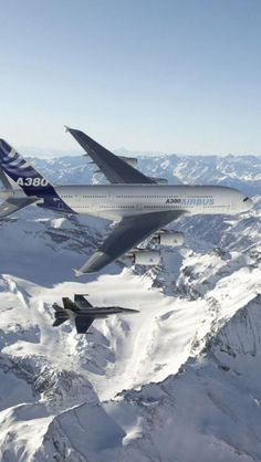 Airbus Aircraft / military escort / hope no terrorism issue involved / no commercial jet passenger wants to get such an escort ! A380 Aircraft, Airbus A380, Trains, Beluga, Plane Photos, Commercial Aircraft, Civil Aviation, Air France, Jet Plane