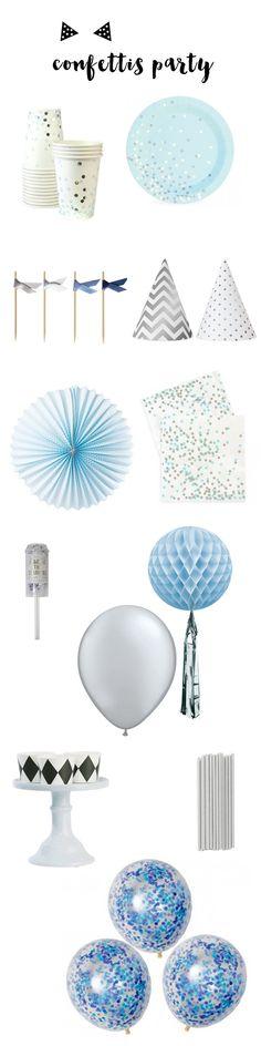 70 Idees De Confettis Confettis Decoration Anniversaire Ballons Confettis