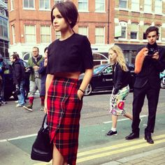#streetstyle #style #fashion #streetfashion #plaid #tartan #flannel