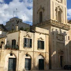 Piazza della Cattedrale di Lecce, Salento, Italia.