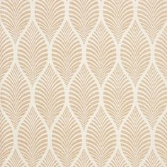 Glamorous wallpaper with a timeless Art Deco motif. An exciting motif that is reminiscent of swaying palm tree leaves. This gives the wallpaper an exotic look.  Available in 5 subtle colours. Pattern repeat: 69 cm.  Wallpaper cannot be exchanged.