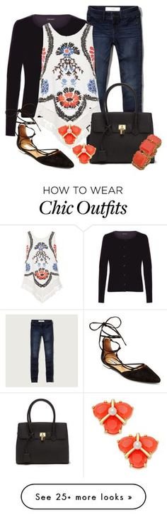 """""""Teacher Attire: Outfit 28"""" by vanessa-bohlmann on Polyvore featuring Abercrombie & Fitch, New Look, River Island, Kate Spade, Steve Madden and Blu Bijoux"""