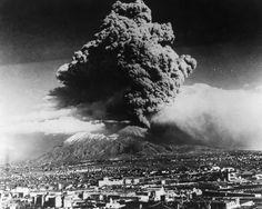 Vesuvio's last eruption, march of 1944